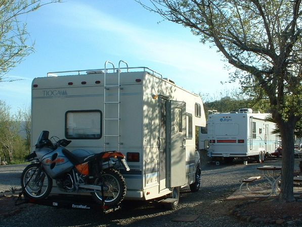 Motorcycle Carriers For Rv RV motorcycle Carrier
