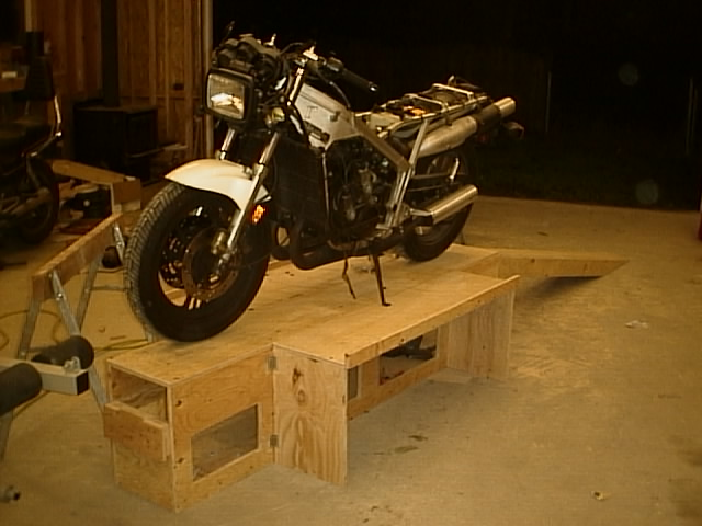Motorbike Stand Designs : The harbor freight motorcycle lift debate thread page