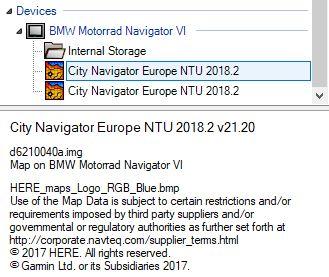 duplicate Garmin maps on NavVI