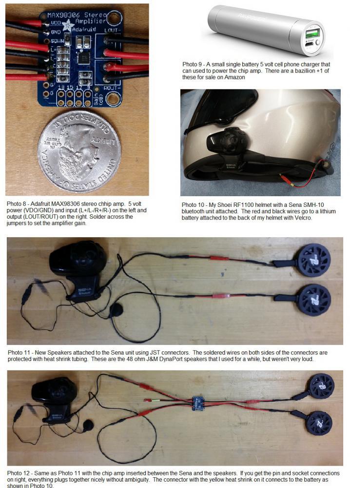So you want LOUD helmet speakers?