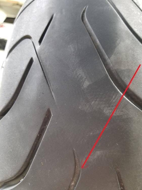Name:  Tire Deb 7,570 miles 2.5 32 inch - Copy.jpg Views: 208 Size:  118.9 KB
